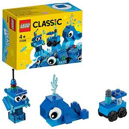 LEGO 11006 Classic Blaues Kreativ-Set