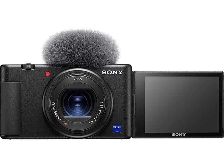 Sony Vlog-Kamera ZV-1 + Bluetooth Handgriff