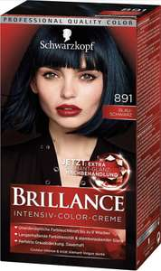 3x SCHWARZKOPF BRILLANCE Intensiv-Color-Creme 891