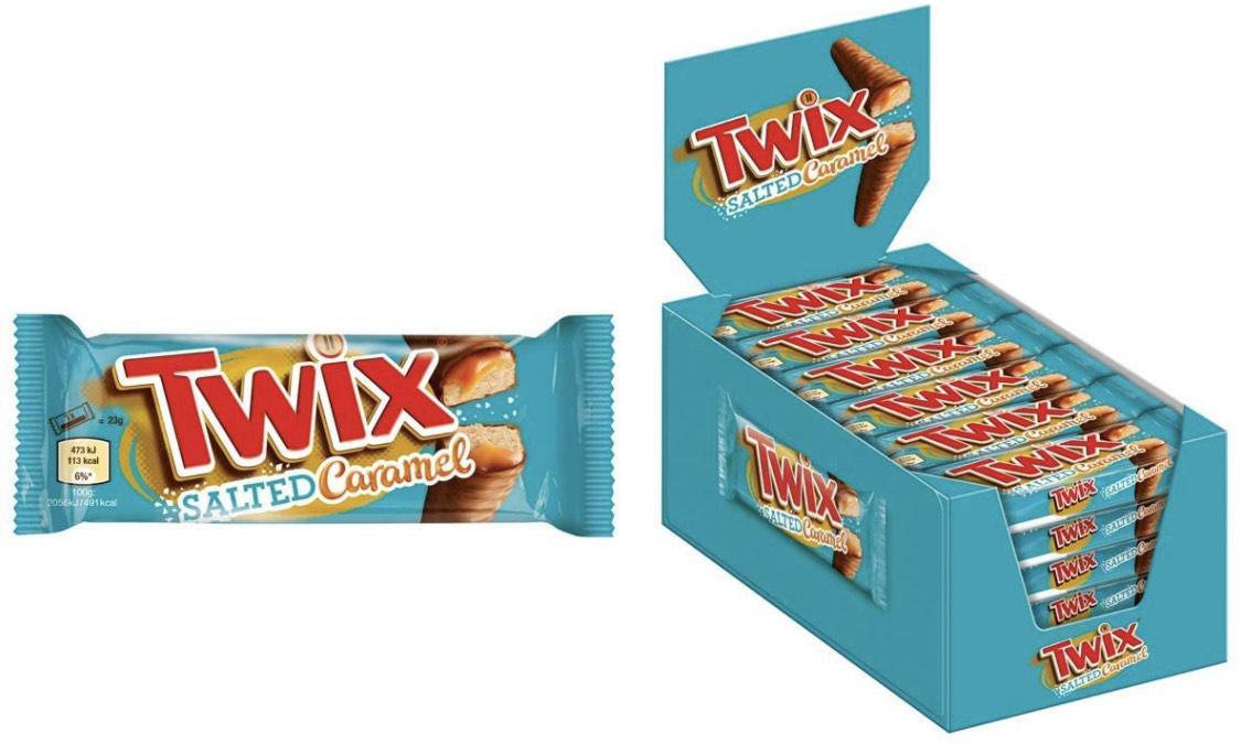 Twix Salted Caramel |30 Doppelriegel