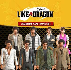 """Yakuza: Like a Dragon-Legenden-Kostümset"" (PS5) gratis bis 2. April"