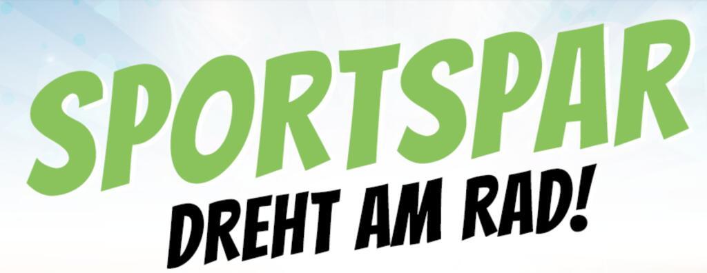 """Sportspar: Dreh Am Rad """"Gewinnspiel"""", mehrfach drehen möglich"""