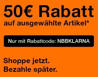 50€ Rabatt auf Notebooksbilliger.de