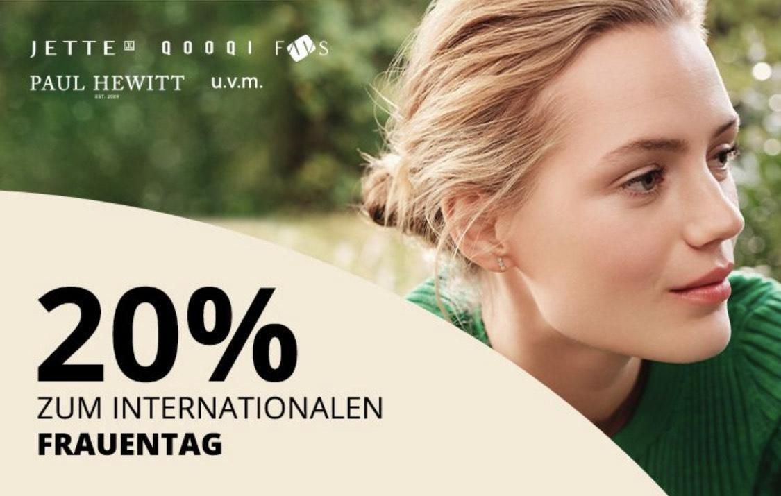 20% Rabatt auf Accessoires