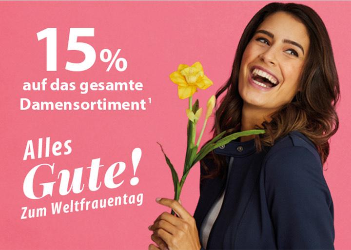 15% aufs Damensortiment bei NKD