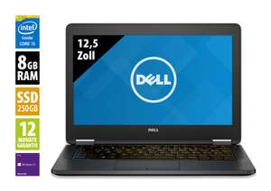 "Dell Latitude E5270 - 12,5"" FullHD, i5, 8GB/256GB"