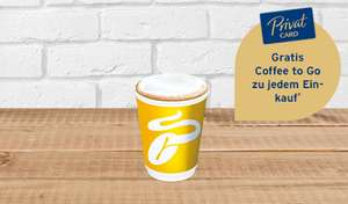 Gratis Coffee to go zu jedem Einkauf bei Tchibo