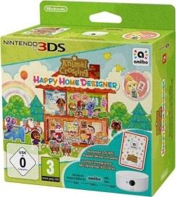 Animal Crossing: Happy Home Designer inkl. 3DS-NFC-Lese-/Schreibgerät - [3DS]