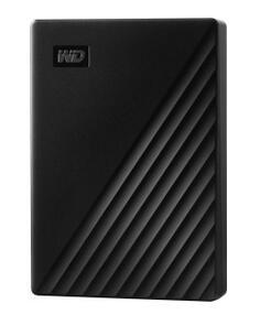 Western Digital WD My Passport Portable, schwarz 5TB, USB 3.0