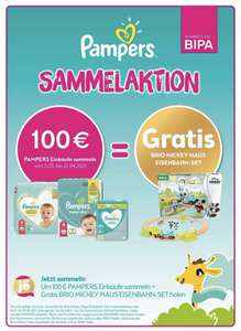 BIPA & Pampers Sammelaktion 2021 - Brio Mickey Mouse Eisenbahnset