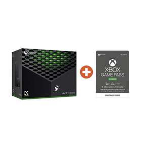 Microsoft Xbox Series X 1TB inkl. Game Pass Ultimate 3 Monate