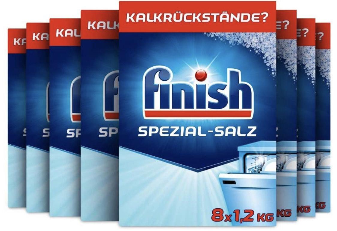 Finish Spezial-Salz Multipack mit 8 x 1,2 kg