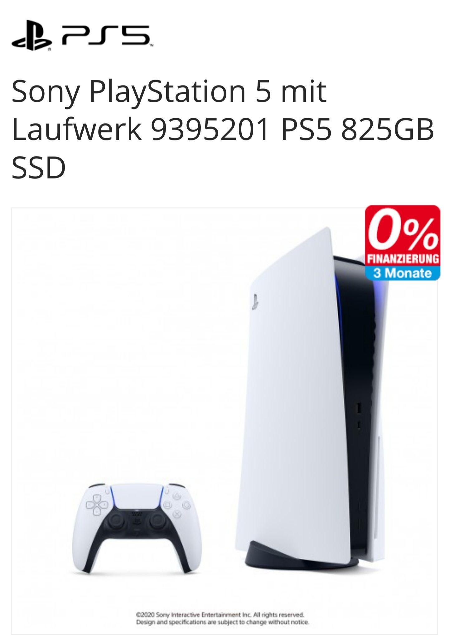 Playstation 5 mit Laufwerk