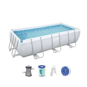 Bestway Power Steel 404 X 201 X 100 Cm Poolset