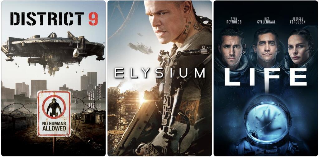 iTunes 4K Filme mit DV für je €2,49 (District 9, Elysium, Life)