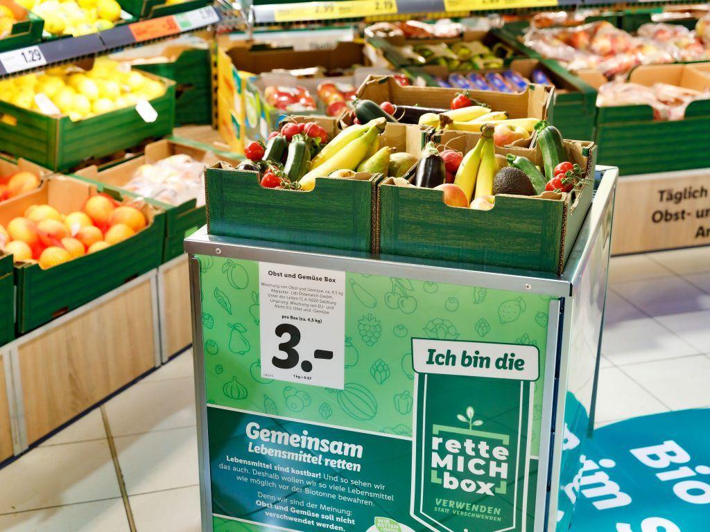 [Lidl] Rette mich Boxen mit 4,5 Kilo Obst und Gemüse