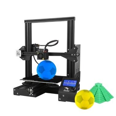 Creality 3D Ender-3 3D-Druckersatz mit 5 Meter Filament mit Versand aus Deutschland