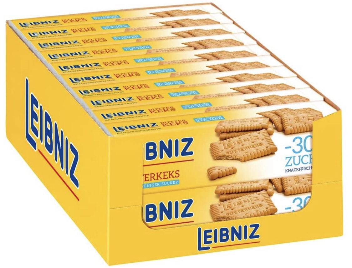 Bahlsen LEIBNIZ Butterkeks 30% weniger Zucker, 20er Pack (20 x 150 g)