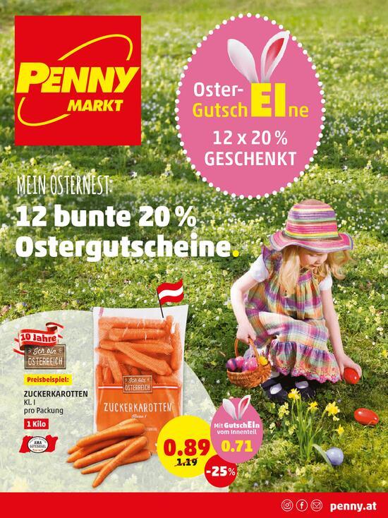 Penny 20% Oster Gutscheine