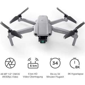[Universal] DJI Mavic Air 2 Fly More Combo um 899,99€. Mavic Air 2 ohne Combo 719,99€. DJI Mini 2 Fly More Combo 539,09€.