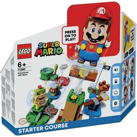 LEGO Mario Starterset 71360 für 35,92 // Doms Charger 42111 für 63,92 und andere Lego Sets
