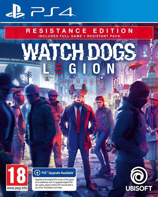 Watch Dogs: Legion - Resistance Edition für PS4 (+Upgrade) und Xbox One (+Upgrade) bei Gamestop - Abholung