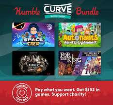 """Humble Digital Curve Bundle"" 11 Games (Windows/Mac/Linux PC): Manual Samuel, Space Crew, American Fugitive, Hue, The Flame in the Flood,..."