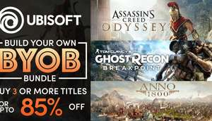 Humble Store: Assassins Creed Odyssey, AC Origins, Anno 1800, Far Cry 5, ab je 7,20 Euro (mit Humble Choice) oder 9 Euro ohne