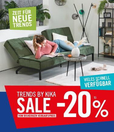 -20% auf trends by kika/Leiner