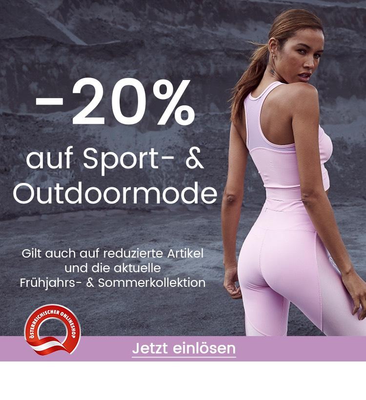20% Rabatt auf Sport- & Outdoormode inklusive Sale bei Universal