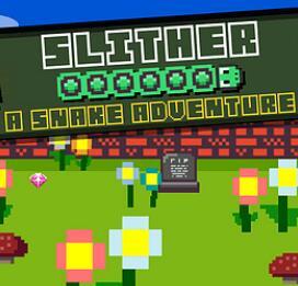 """""""Slither A Snake Adventure"""" (Windows PC) gratis auf itch.io + kleines Gewinnspiel* von mir"""