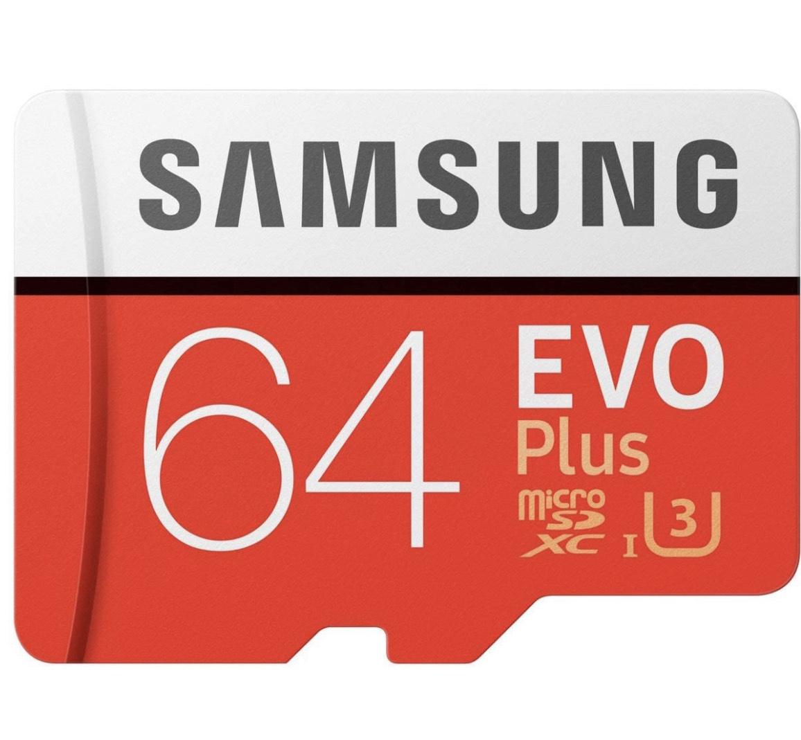 2x Samsung Evo Plus 2020 64GB Flash-Speicher MicroSDXC Class 10 UHS-I