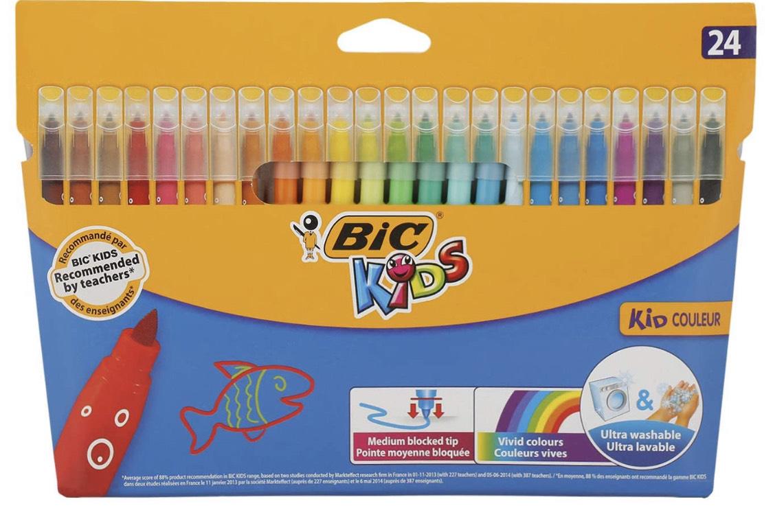BIC Kids Filzstifte Kid Couleur