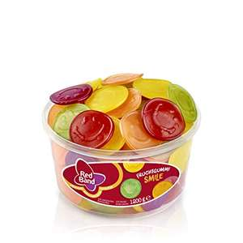 Red Band Fruchtgummi Smile Dose - Fruchtgummi, 1.2 kg