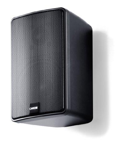 2Stk. Canton Plus GX.3 Regal-/Wandlautsprecher, schwarz