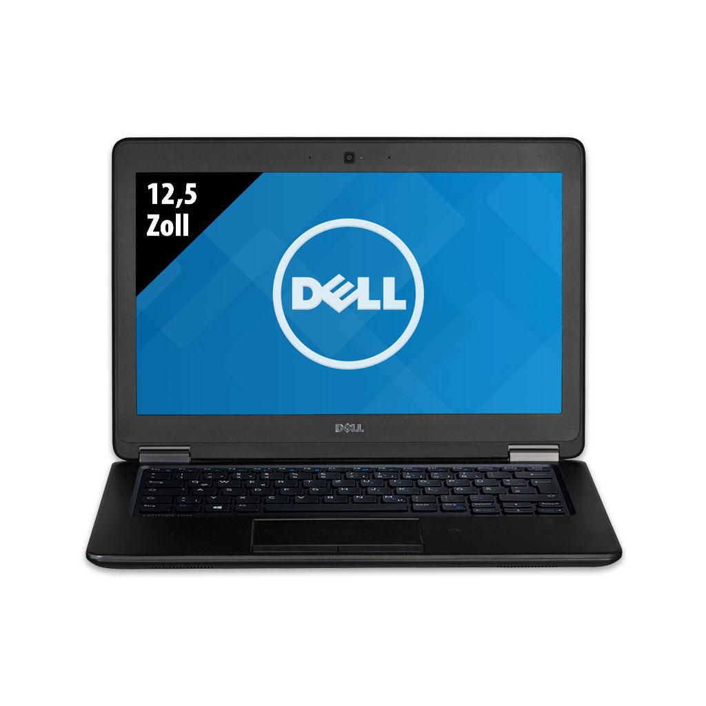 Grade B Dell Latitude E7250 - 12,5 Zoll - Core i5-5300U @ 2,3 GHz - 8GB RAM - 480GB SSD