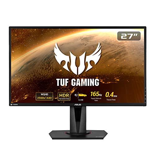 ASUS TUF Gaming VG27BQ 68,58cm 27 Zoll Monitor (WQHD, HDMI, DisplayPort, 0,4ms Reaktionszeit, 165Hz, HDR10