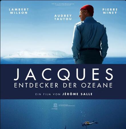 """""""Jacques - Entdecker der Ozeane"""" Biopic über Jacques Cousteau, als Stream oder zum Herunterladen aus der 3Sat Mediathek"""
