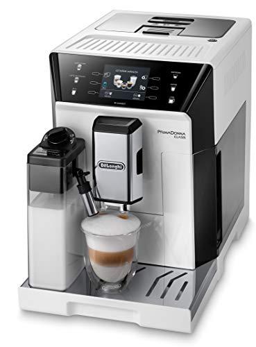 De'Longhi PrimaDonna Class ECAM 556.55.W Kaffeevollautomat mit Milchsystem