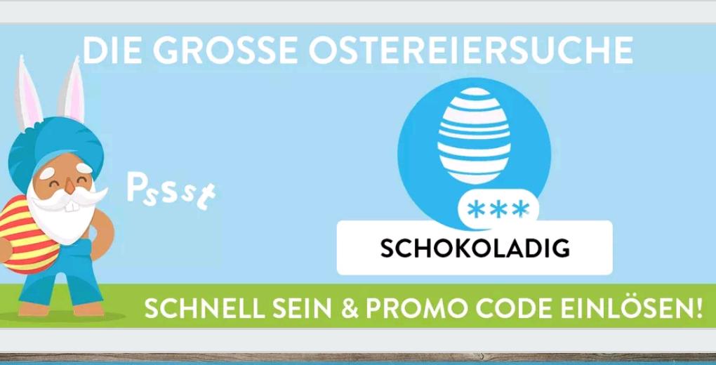 PROMO-CODE für 1€ Cashback auf einen Lindt Goldhasen 100g