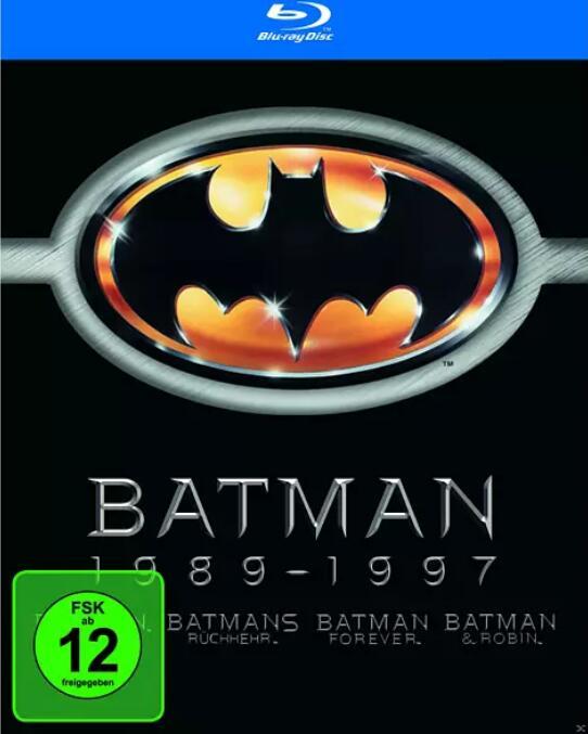 Batman 1- 4 (Blu-Ray) bei Mediamarkt zum Jokerpreis