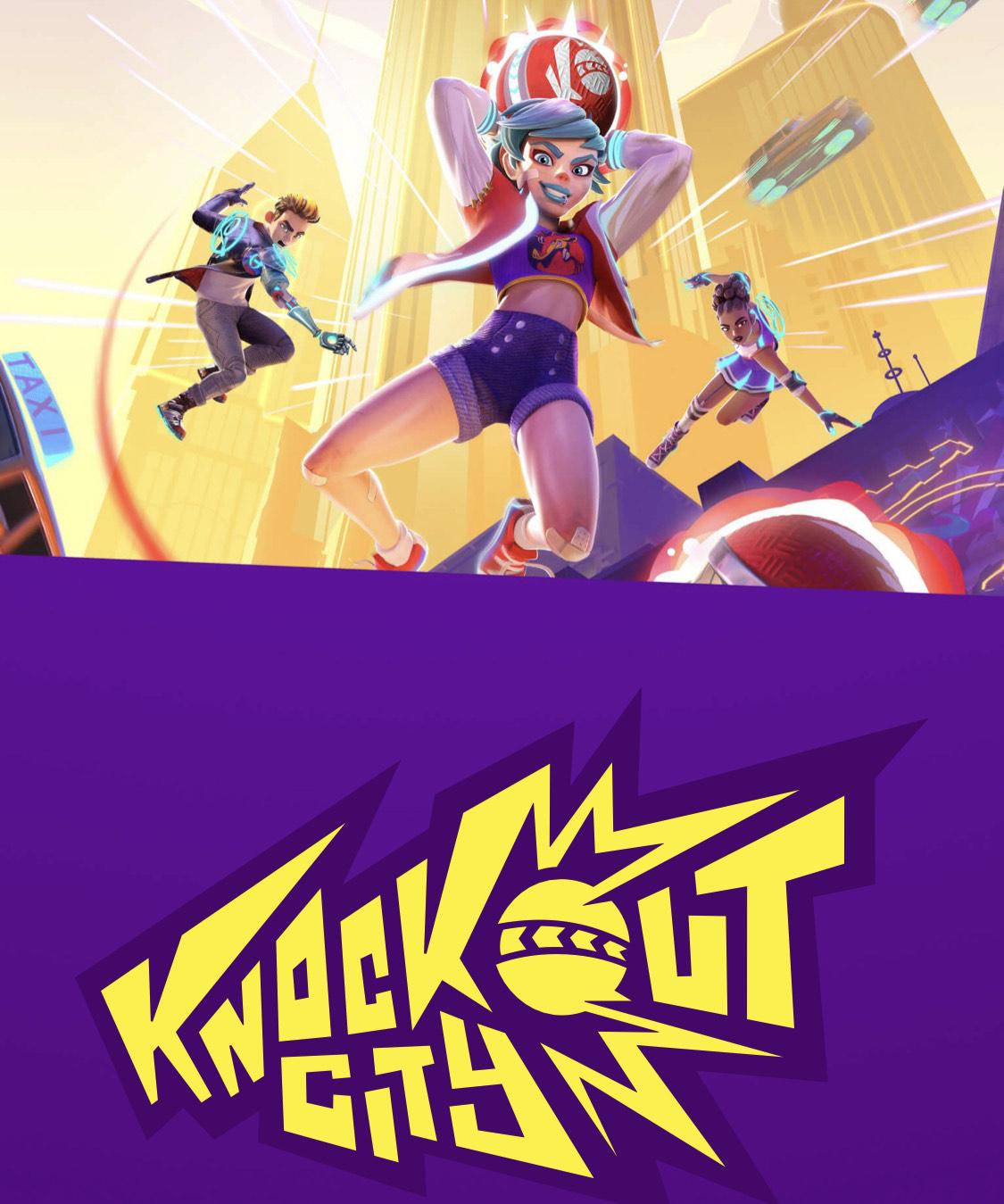 Crossplay-Beta von Knockout City für gratis Booster