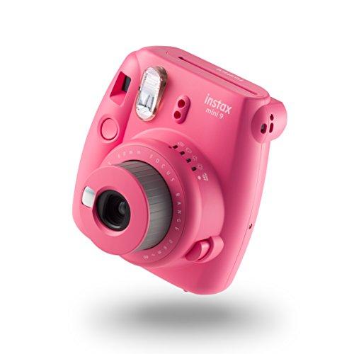 Fujifilm Instax Mini 9 Geschenkset flamingo rosa