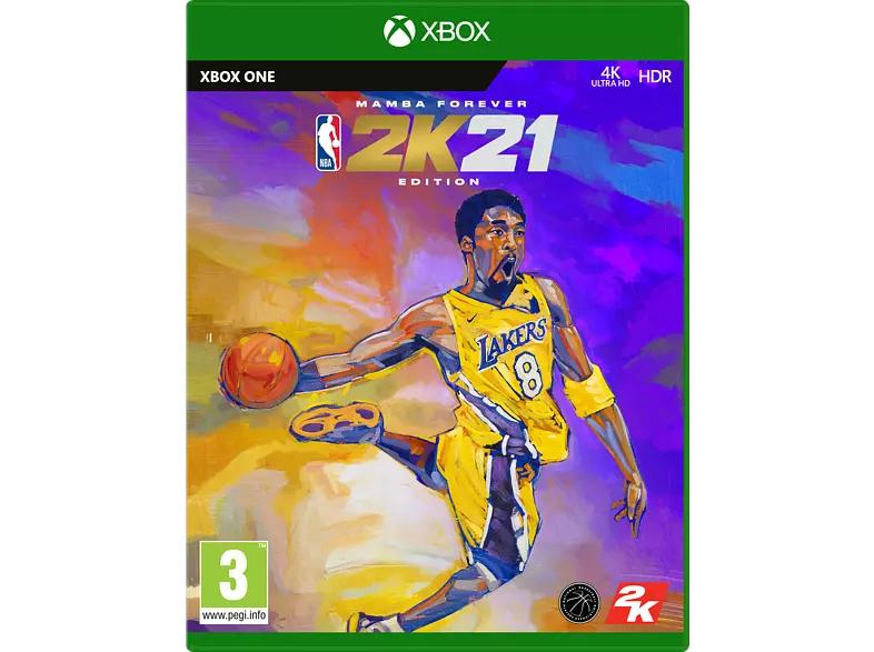 """NBA 2K21 Mamba Forever Edition"" (Xbox One) zum WarenKORBLEGERPreis bei Media Markt"
