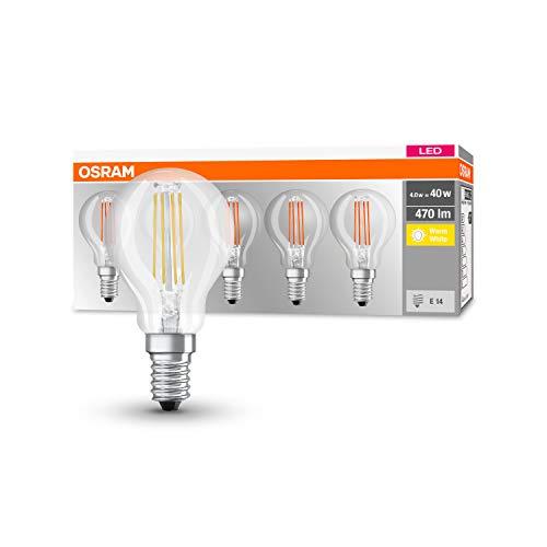 5er Pack Osram LED Base Classic E14 4W (=40W)