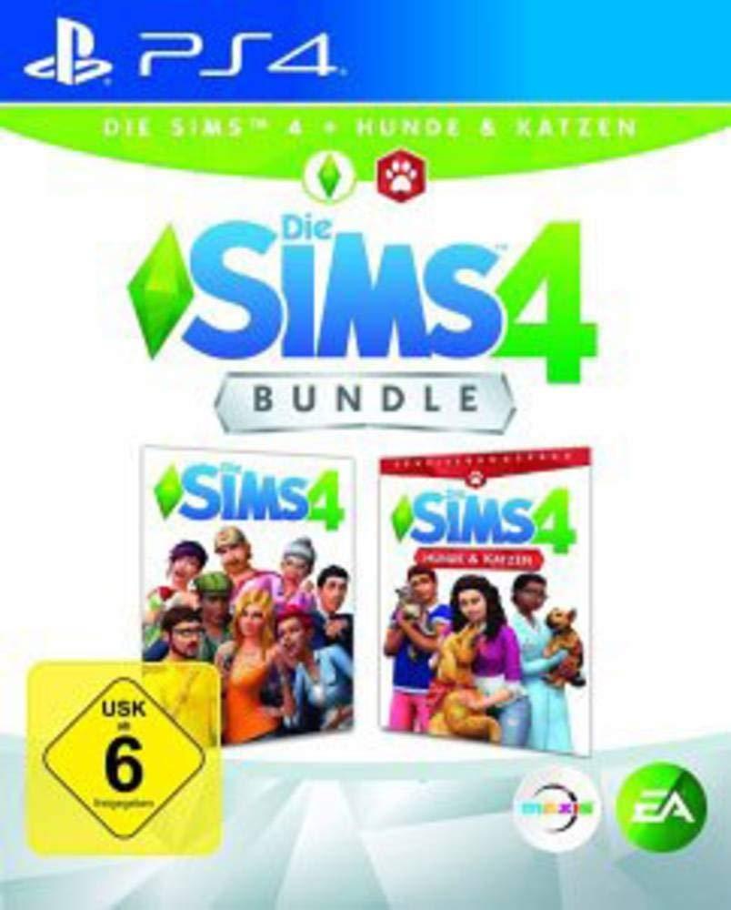 """(PS4 / PS5) Die Sims 4 """"plus Hunde & Katzen-Bundle"""""""