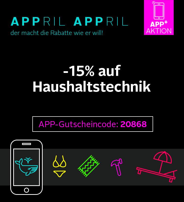 15% auf Haushaltstechnik bei Otto in der App