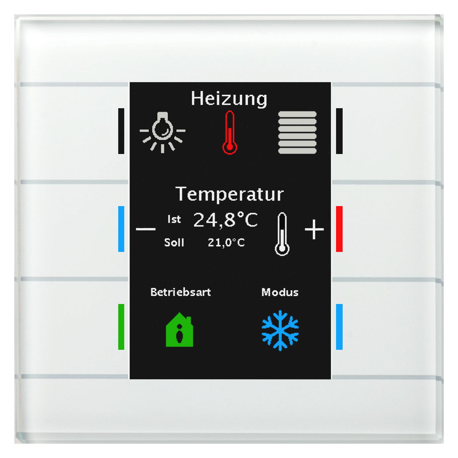 KNX MDT Sammeldeal für Smart Homes - Glastaster II Smart mit Temperatursensor usw.