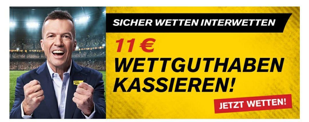 11€ Wettguthaben kassieren