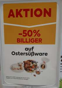 Ostersüßware -50% [Billa Plus]
